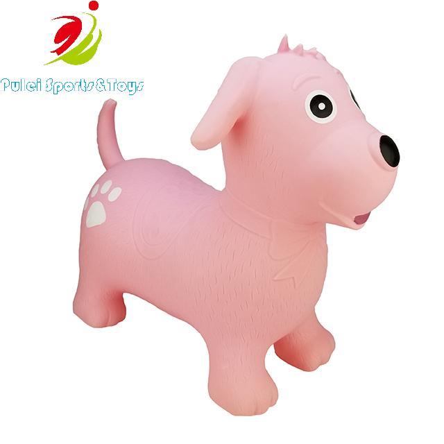2019 Top New Sports Toys Inflatable Bouncy Animal Hopper Dog For 3